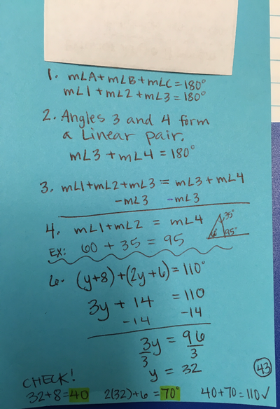 8th Grade Math - MRS. REEVES\' MATHEMATICS 2017-2018